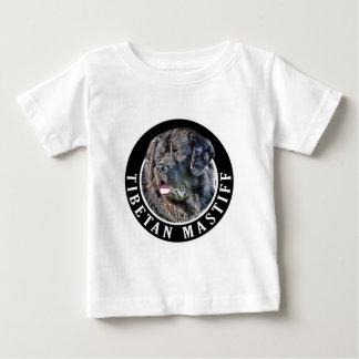 Tibetan Mastiff Dog 002 Baby T-Shirt