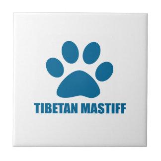 TIBETAN MASTIFF DOG DESIGNS TILE