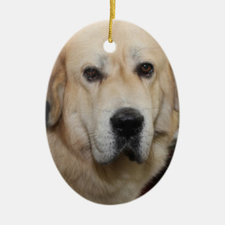 TIBETAN MASTIFF DOG ORNAMENT