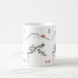 Tibetan mountains -- spiritual coffee mug