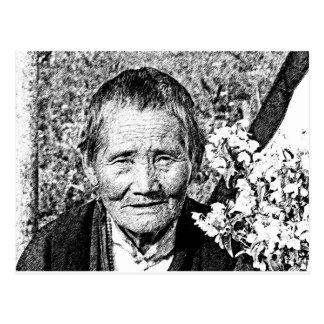 Tibetan Pilgrim Postcard