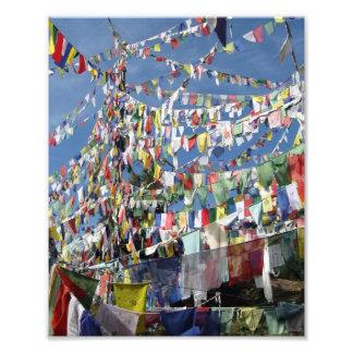 Tibetan Prayer Flags Photo Print