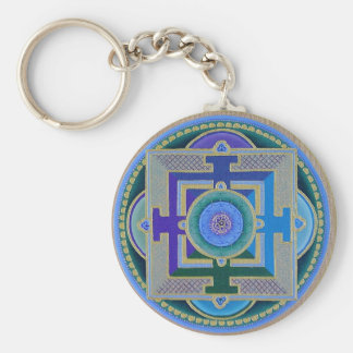 Tibetan Rose Key Ring
