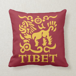 Tibetan Snow Lion Cushion