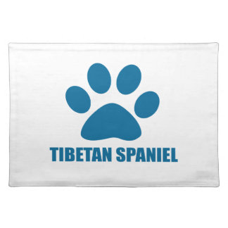 TIBETAN SPANIEL DOG DESIGNS PLACEMAT