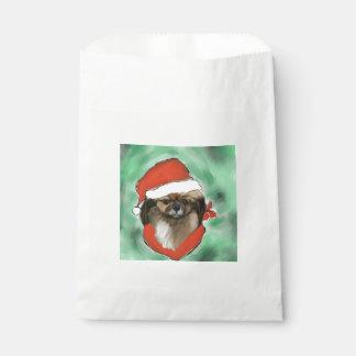 Tibetan Spaniel Favour Bag