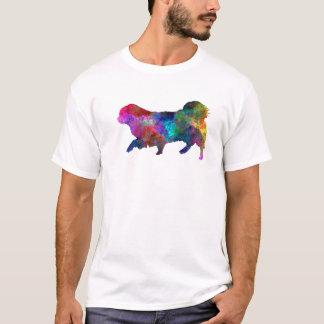 Tibetan Spaniel in watercolor T-Shirt