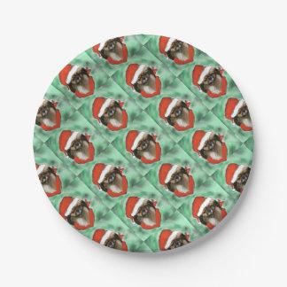 Tibetan Spaniel Paper Plate
