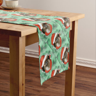 Tibetan Spaniel Short Table Runner
