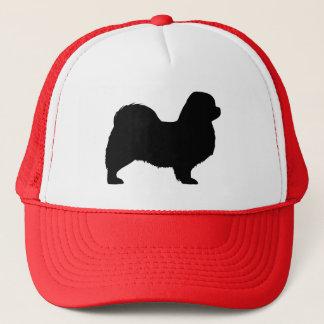 Tibetan Spaniel Silhouette Trucker Hat