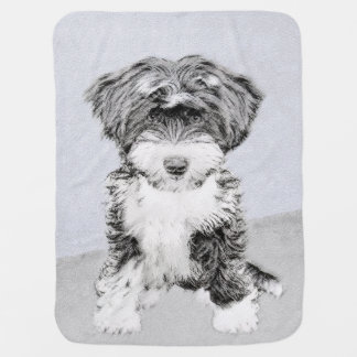 Tibetan Terrier Baby Blanket