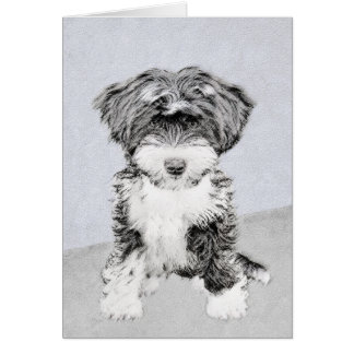 Tibetan Terrier Card