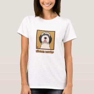 Tibetan Terrier Cartoon T-Shirt