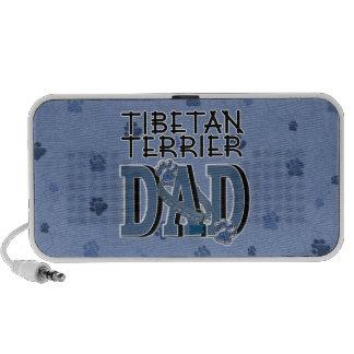 Tibetan Terrier DAD Notebook Speakers