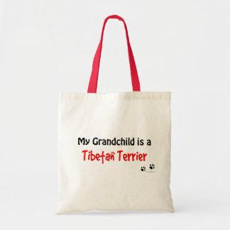 Tibetan Terrier Grandchild Tote Bag