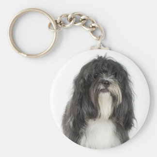 Tibetan Terrier Key Ring