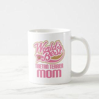 Tibetan Terrier Mom Dog Breed Gift Coffee Mug