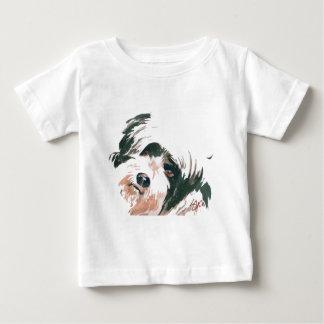 Tibetan Terrier portrait Baby T-Shirt