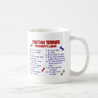 TIBETAN TERRIER Property Laws 2 Coffee Mug