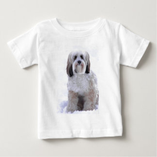 Tibetan Terrier Sable and White Baby T-Shirt