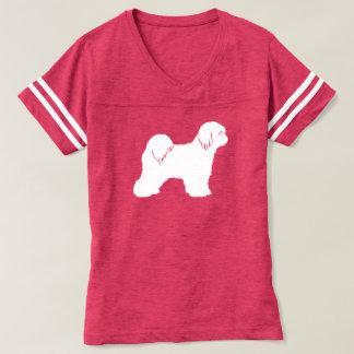 Tibetan Terrier Silhouette T-Shirt