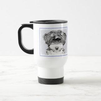 Tibetan Terrier Travel Mug