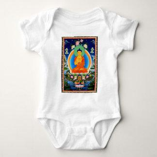 Tibetan Thangka Prabhutaratna Buddha Baby Bodysuit