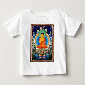 Tibetan Thangka Prabhutaratna Buddha Baby T-Shirt