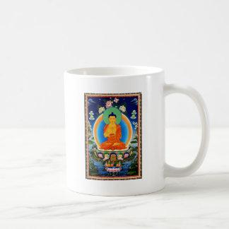 Tibetan Thangka Prabhutaratna Buddha Coffee Mug