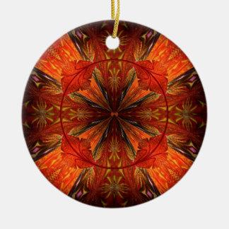 Tibetan Trumpet Vine Ceramic Ornament