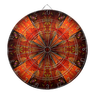 Tibetan Trumpet Vine Dartboard