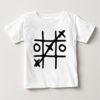Tic Tac Toe - 3 in a Row Baby T-Shirt