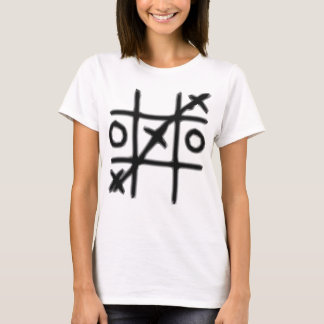 Tic Tac Toe - 3 in a Row T-Shirt