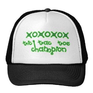 Tic Tac Toe Champion super cute xoxox Hat