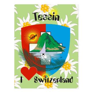 Ticino Svizzera/Tessin Switzerland postcard