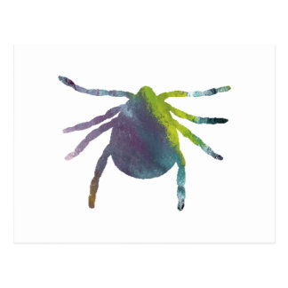 Tick Postcard
