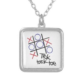 Tick Tack Toe Pendant