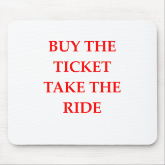 TICKET MOUSE PAD