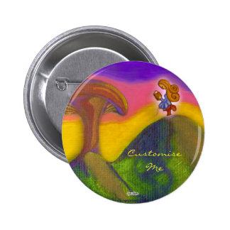 Ticket to a Fantasy World 6 Cm Round Badge