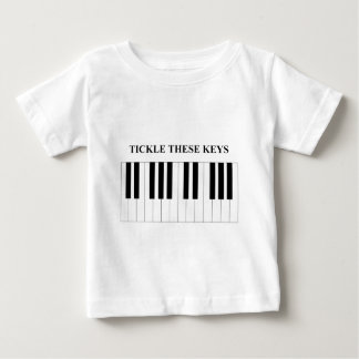 Tickle These Keys Baby T-Shirt