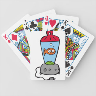 Tickles Goldfish in a blender Bicycle Playing Cards