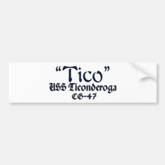 Tico-In Text Design Bumper Sticker