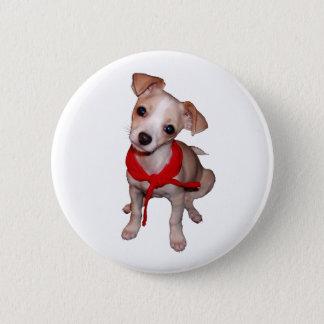 Tico Puppy 6 Cm Round Badge