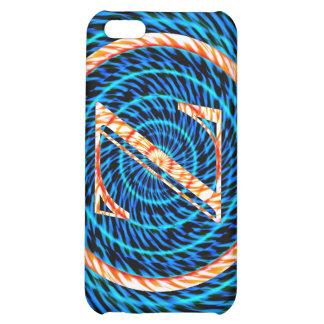 Tidal Spiral Blue Monogram Z iPhone 5C Case