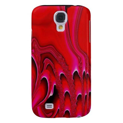 Tidal Wave - Designer 3G iPhone Skin (vermillion) Galaxy S4 Cover