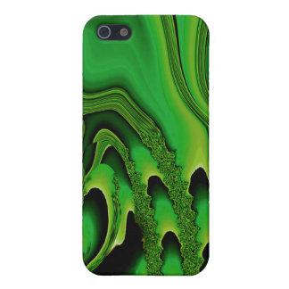 Tidal Wave - Designer iPhone 4 emerald Cases For iPhone 5
