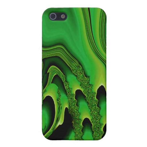 Tidal Wave - Designer iPhone 4 (emerald) Cases For iPhone 5
