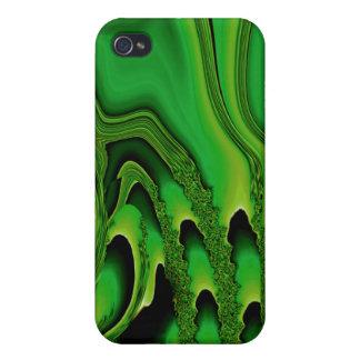 Tidal Wave - Designer iPhone 4 emerald iPhone 4 Case