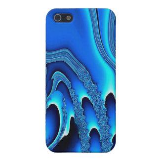Tidal Wave - Designer iPhone 4 indigo iPhone 5 Cover