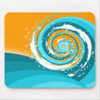 Tidal Wave Mouse Pad